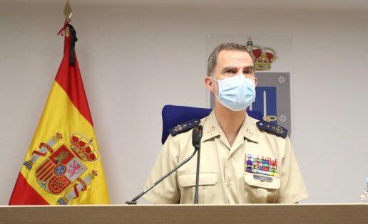 El Rey, a los militares: «Somos un gran país que sabe vencer las dificultades»