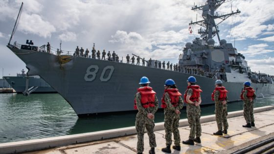 EE.UU. comienza el relevo de sus destructores de Rota por otros más modernos