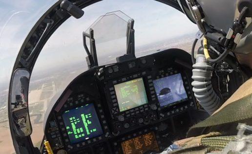 """La US Navy estudia incorporar el nuevo """"display"""" de la tecnológica española Tecnobit en sus F-18"""