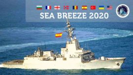 La Armada Española participa con dos buques en unas maniobras en el Mar Negro