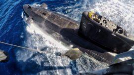 El submarino Tramontana recala hoy en el puerto de Melilla