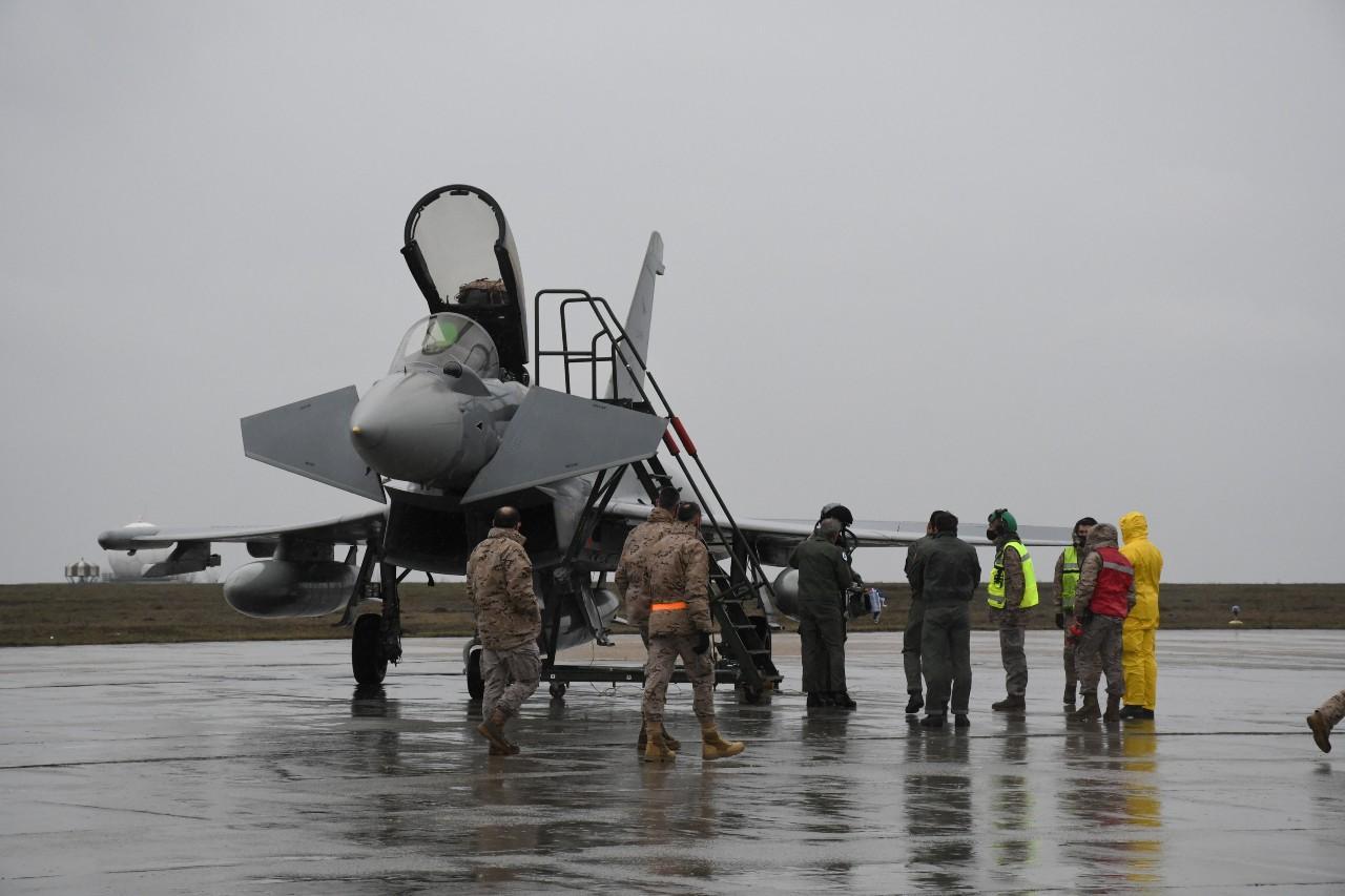 OTAN: los Eurofighter españoles ya están en Rumanía