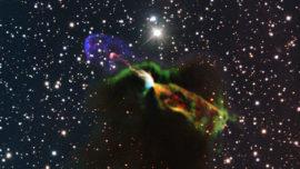 Imágenes nunca vistas del nacimiento de una estrella