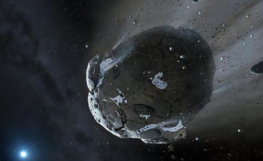 Hallan los escombros de un sistema planetario que pudo albergar vida