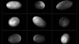 El caótico baile de las lunas de Plutón