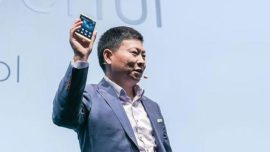 Huawei Mate S, el primer «smartphone» con pantalla «Force Touch»