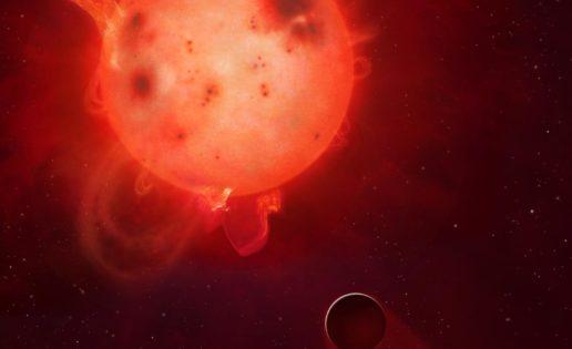 La estrella Kepler 438 mató al mundo más parecido a la Tierra