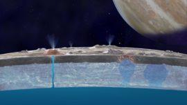 El océano subterráneo de Europa, apto para la vida