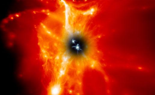 Galaxias, las grandes derrochadoras del Universo