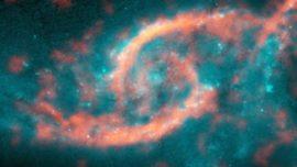 Un enorme «tsunami cósmico» avanza dentro de una galaxia