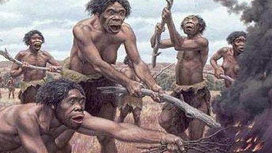 Los primeros europeos no cocinaban con fuego
