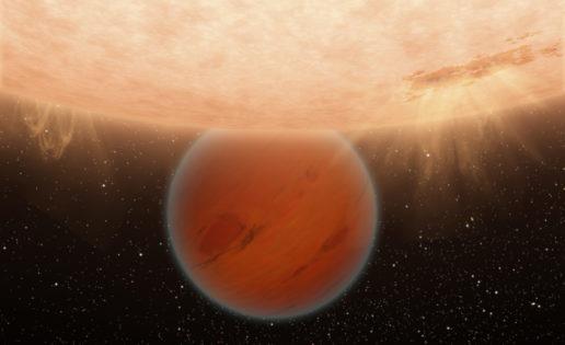 Descubren una atmósfera primitiva alrededor del planeta HAT-P-26b