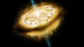 Las moléculas orgánicas nacen al mismo tiempo que las estrellas