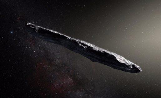¿Y si no era un asteroide, sino una nave espacial?