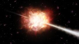 Afirman que los estallidos de rayos gamma pueden invertir el tiempo
