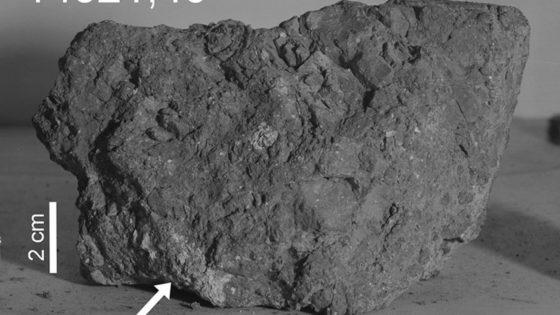 Hallan una de las rocas más antiguas de la Tierra… en la Luna