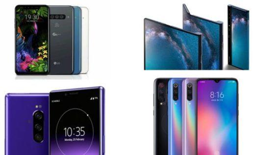 Los mejores móviles del Mobile World Congress 2019