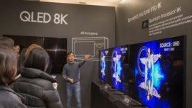 Samsung presenta su nueva gama de televisores QLED 2019