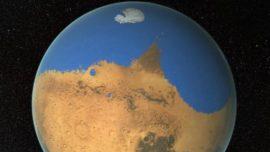Hallan un enorme agujero en la atmósfera de Marte que permite que el agua escape