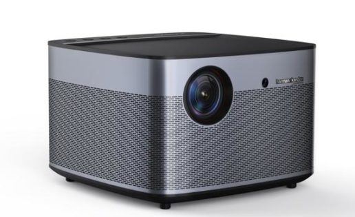 Un curioso dispositivo une un proyector a un equipo de sonido y un centro multimedia