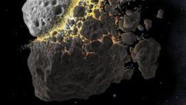 Una gran colisión entre asteroides disparó la biodiversidad en la Tierra