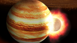 Así fue el mayor impacto del Sistema Solar
