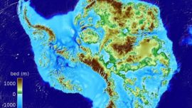 Hallan, bajo el hielo de la Antártida, el cañón más profundo de la Tierra