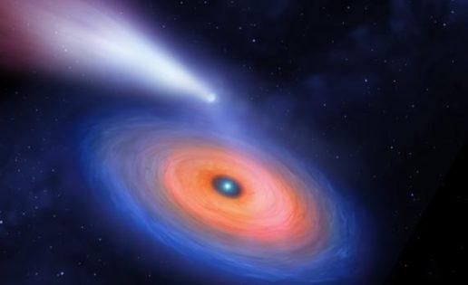 Descubren un planeta gigante alrededor de una estrella cuatro veces más pequeña que él