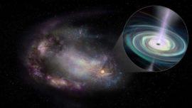 Observan, por primera vez, agujeros negros «errantes», abandonando los centros de sus galaxias