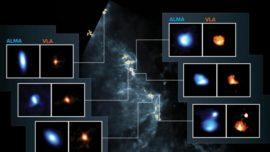 Así se preparan las estrellas para el nacimiento de sus planetas