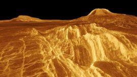 ¿Qué son las extrañas líneas rectas que se ven en la superficie de Venus?