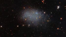 La galaxia más solitaria del Universo