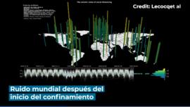 El confinamiento redujo las vibraciones de la Tierra en un 50%