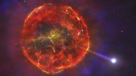 Una supernova lanza una estrella a 900.000 km/h a través de nuestra galaxia