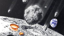 Una lluvia de meteoritos gigantes bombardeó la Tierra y la Luna hace 800 millones de años