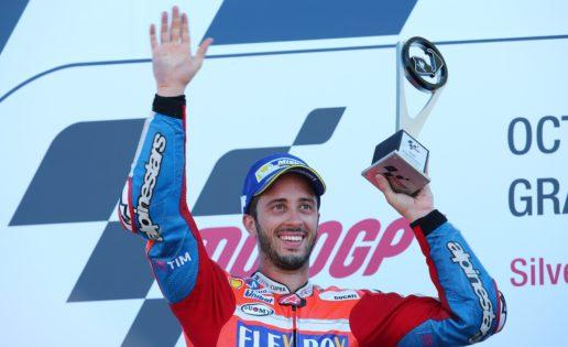 El verdadero rival de Márquez es Dovizioso, que ha desbancado a Rossi en Italia