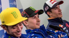 """Lorenzo, Rossi y Viñales frente al """"Team Márquez"""", el equipo español de Honda, bicampeón del mundo en 2019"""