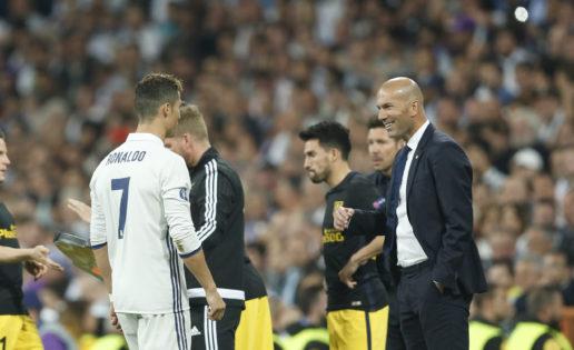 "Cristiano y Zidane, ""The best"""