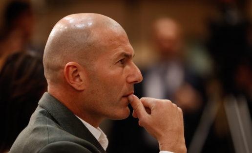 Zidane, indignado: nunca ha pretendido colocar a su hijo como segundo portero
