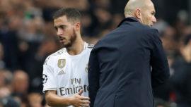 Ramos, Marcelo, Benzema, Casemiro, Varane y Hazard, la guardia pretoriana de Zidane
