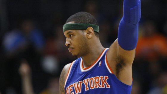 Carmelo hace de oro a los Knicks