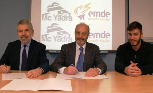 EMDE-McYadra renuevan convenio hasta el 2019