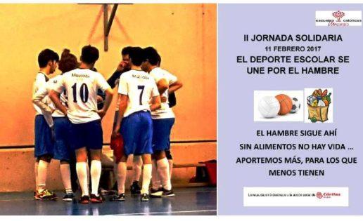 Jornada solidaria en la competición deportiva de ECM