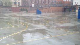 Frente a la lluvia… ¡goles!