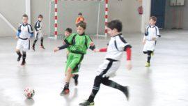 """Las mejores imágenes del partido de fútsal benjamín mixto entre Fray Luis de León """"B"""" y Jesús María """"C"""""""