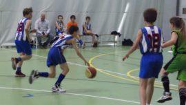 Las mejores imágenes del partido de baloncesto alevín masculino entre Ntra. Sra. Recuerdo y Sagrada Familia Jorge Juan