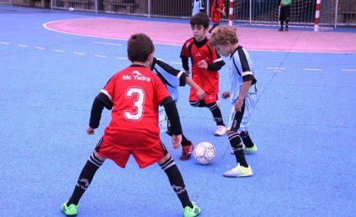 Mater Immaculata «A», Vedruna Escuelas Inter «A» y Claret «A», ¿quién será el campeón del futsal alevín?