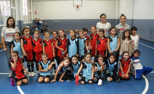 Los alevines de baloncesto, protagonistas en la 1ª jornada de los Juegos ECM