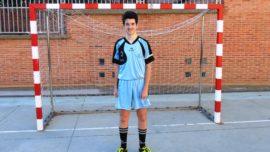 """Ignacio Carrasco, jugador juvenil de Ntra. Sra. Loreto (PV): """"Animo a todos los adolescentes a que hagan cualquier deporte"""""""
