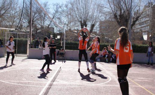 Santa María del Pilar y Santa Ana y San Rafael, bien situados en voleibol tras dos jornadas